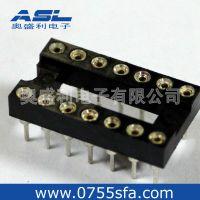 供应SFA圆孔IC插座,台湾正凌圆孔IC脚座,规格齐全,库存现货