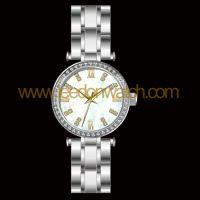 深圳手表厂家供应石英高档手表 真空IP镀玫瑰高档石英女款手表