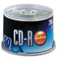 厂家供应 刻录光盘 CD-R 刻录碟 空白光盘 50片装