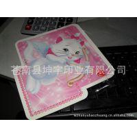 厂家批量供应可爱卡通猫咪纸类印刷不干胶
