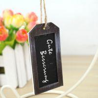 杂货 创意迷你小挂件 木质小黑板挂饰 拍摄道具 小书签夹