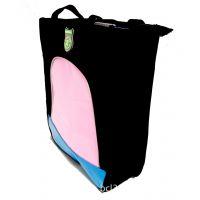 供应小学生手拎尼龙糖果色亮面补习包补课袋便携书包