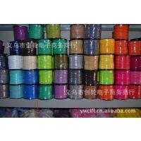 纺织辅料 韩国蜡绳 蜡线 双面绒带 蜡绳编织