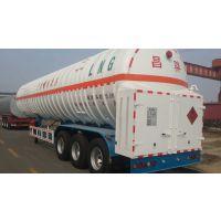昌骅牌国内的56.4立方LNG天然气罐车,天然气罐车/新疆百吨王拉煤王半挂价格