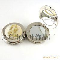 【批发供应】RPK06迷你型小镜子真贝壳挂包器