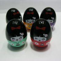 日本娃娃不倒翁牙签罐 牙签盒 牙签筒 创意时尚牙签瓶 餐厅用品