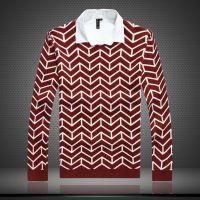 厂家直销 韩版V领针织衫加厚打底衫 羊毛衫