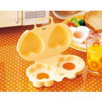微波炉蒸蛋器 卡通造型蒸蛋器煮蛋器 花朵爱心蒸蛋器批发
