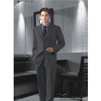 西装套装 男西服正装男士黑色 工作服职业装 /来图来样加工定做