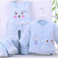 加厚宝宝冬季棉衣初生婴儿服装衣服冬外套新生儿棉袄棉服1651