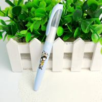 正品英雄钢笔 小清新校园学院风蓝色钢笔套装 换囊式学生办公钢笔