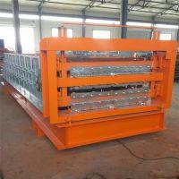 厂家直销840-900-800三层竹节琉璃瓦压瓦机