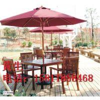 供应户外休闲实木桌椅,用于酒吧商场房地产样板间商业街咖啡厅