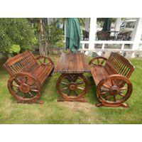 供应供天津户外家具赤峰遮阳伞营口实木桌椅大连双人车轮桌椅