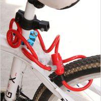 台湾ULAC优力防盗锁钢丝钢缆锁自行车锁防盗锁加长锁带支架Y-9
