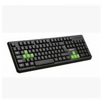热销 禧莱HK-100 USB有线PS/2单键盘 游戏 笔记本台式机电脑通用