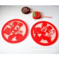 上海工厂PVC杯垫  迪士尼米妮杯垫