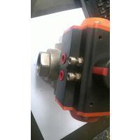五大连池气动不锈钢球阀,Q15F