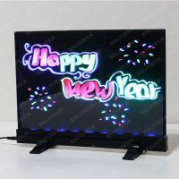 索彩Tb3626-K 台式黑体LED荧光板 荧光屏 电子POP牌 手写荧光板