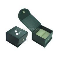 厂家加工供应锁扣戒指盒、尖头锁扣首饰盒、饰品包装高档纸盒