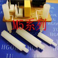 六角隔离柱/单头隔离柱/紧固件/M3/M4/M5*0.5