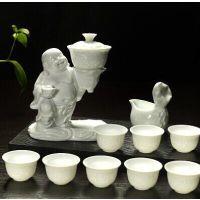 高端礼品 白瓷全自动泡茶器 13头礼盒装 新会销礼品 茶具套装