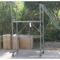 轻型仓储货架仓库货架 折叠移动货架 轻型五金仓储设备 很实用