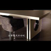 可定做 美式家具实木办公桌 会议公司办公桌实木桌子家用电脑批发