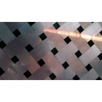 佛山304不锈钢拉丝板 原装太钢304交叉斜拉丝不锈钢板
