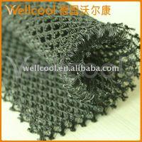 供应黑色3D网布/沃尔康3D材料/透气可洗