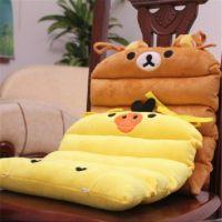 毛绒玩具批发 多功能轻松小熊黄色小鸡坐垫椅垫汽车坐垫家居用品