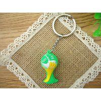 2014 爆款 巴西世界杯吉祥物钥匙扣 世界杯标志包包挂饰 赠品礼品