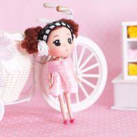 厂家直销 2013款式 耳罩奶嘴长脚迷糊娃娃挂件 RX06-14cm
