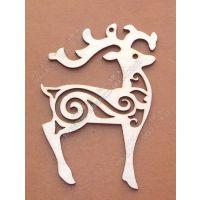 供应圣诞饰品  激光挂件 雕刻木质挂件工艺品