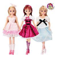 正品乐吉儿L8889梦幻化妆公主 芭比娃娃女孩玩具过家家礼品公仔