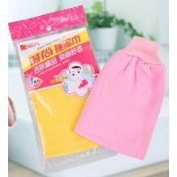韩国正品磨砂搓澡巾 搓泥沐浴手套蕾丝 搓背巾 加厚 振兴FEM7534