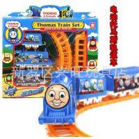 电动玩具批发 热卖托马斯轨道小火车 儿童益智玩具 地摊热销玩具