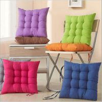 批发珍珠棉填充不变形座垫 纯色磨毛椅子垫 餐椅垫 加厚坐垫