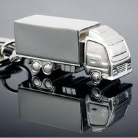 厂家直销新奇特货车钥匙扣钥匙链创意合金钥匙挂件礼品钥匙圈!
