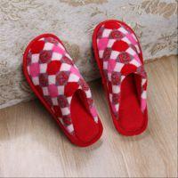 拖鞋冬季秋棉拖鞋女情侣包跟厚底防滑室内保暖男士居家鞋