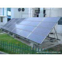 供应太阳能发电系统和市电比较无需缴电费的能源