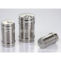 Pepper shakers 烧烤调料盒 不锈钢多用旋转调味瓶厨房用品调味罐