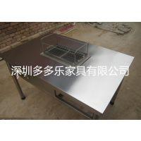 大理石火锅烧烤火锅一体桌 自助式烧烤桌