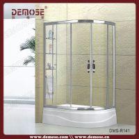 厂家直销优质浴室扇形淋浴房,宾馆酒店整体卫浴淋浴房,DMS-R141