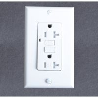 供应美式GFCI接地故障保护插座,漏电保护插座15A125V, UL认证