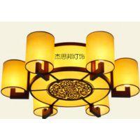 供应现代中式吸顶灯中式客厅灯吸顶灯圆形LED卧室灯具灯饰
