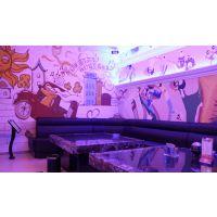 主题ktv墙纸壁画装饰 沙发背景人物画 3d壁画