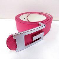 PD016 韩国新款 品牌皮带 现代字母G扣皮带 时尚女百搭细款皮带