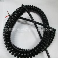 3芯弹簧线、4芯弹弓线、5芯螺旋线、6芯伸缩线、8芯卷线生产厂家