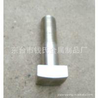 江苏厂家不锈钢车削方头螺丝螺栓生产 加工定做钛钢多种非标件